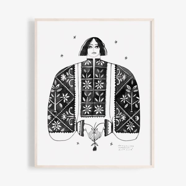 17/31 - Romanian shirt from TINUTUL PADURENILOR