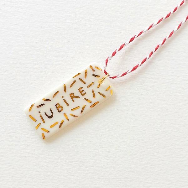 """Martisor /  """"IUBIRE"""" pendant"""