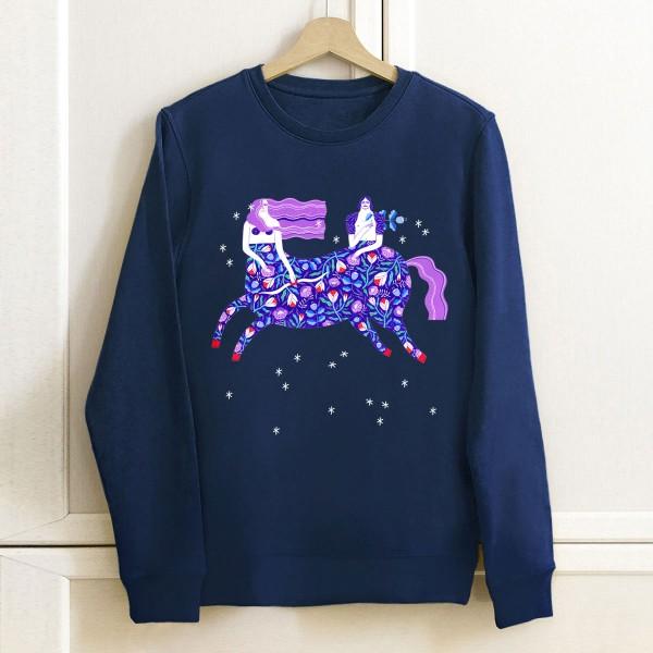 VALENTINE / LOVE STRUCK unisex sweatshirt