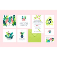 """Mathilde"" wedding stationery"