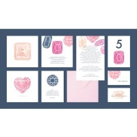 """Ruby"" wedding stationery"