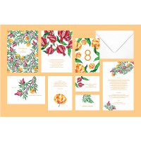 """Francesca"" wedding stationery"
