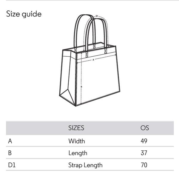 Map of Romania / Shopper Bag
