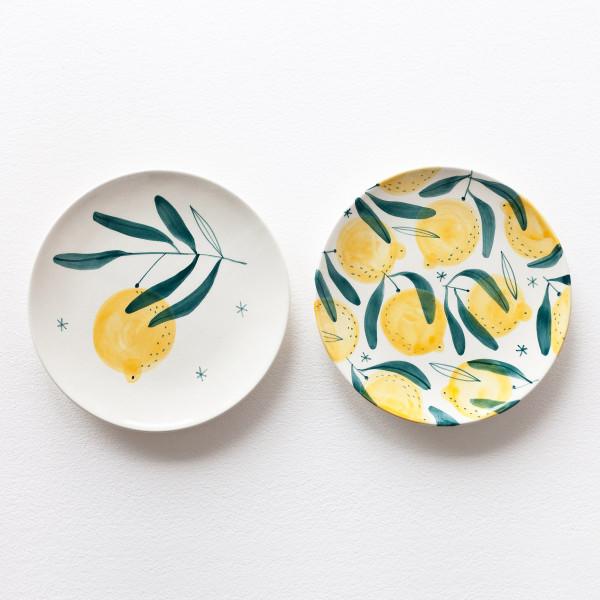 LIMONE SET /  2 x  Medium plate