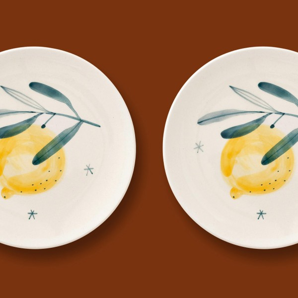 2 x  Small plate