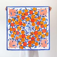 ARANCELLO / large silk scarf