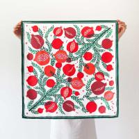 MELOGRANELLO / medium silk scarf