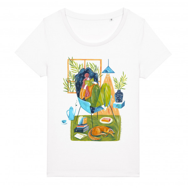 T-shirt Goddess Of Cosy And Chill