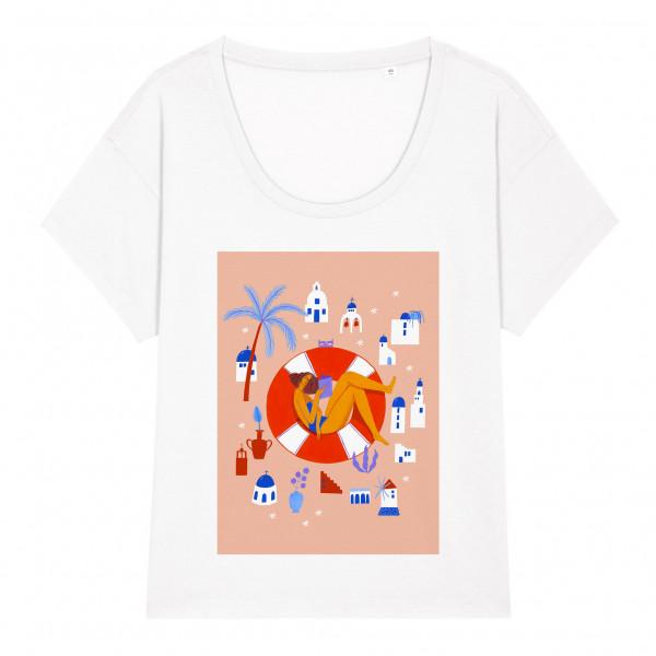 T-shirt Kalimera / White
