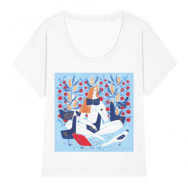 T-shirt Reading In August