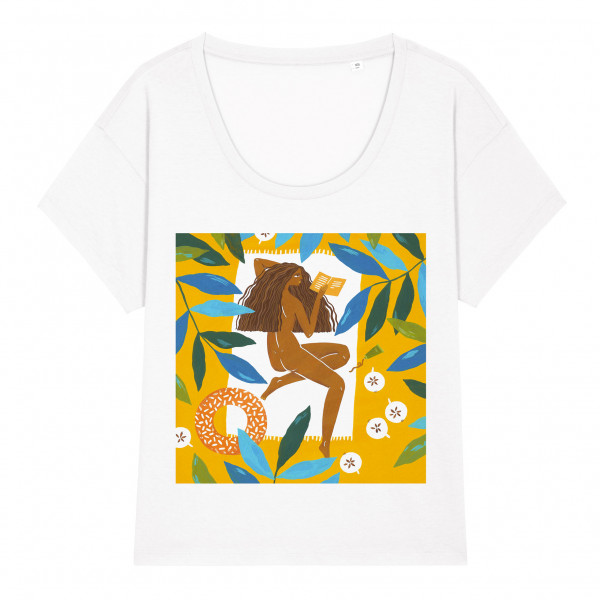 T-shirt Reading In July