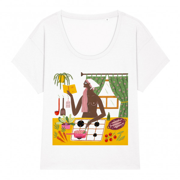 T-shirt Reading In June