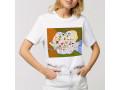 T-shirt Map Of Romania