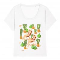 T-shirt Sunbathing