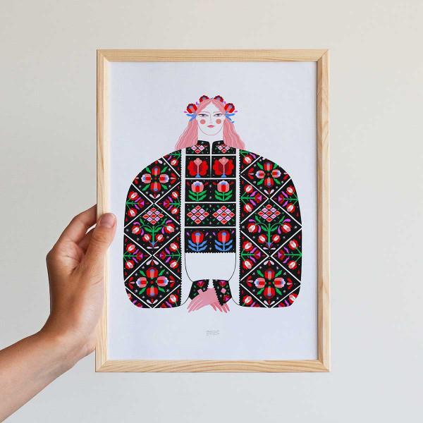 Framed mini-print / PADUREANCA