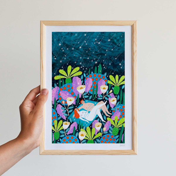 Framed mini-print / PERSEIDS