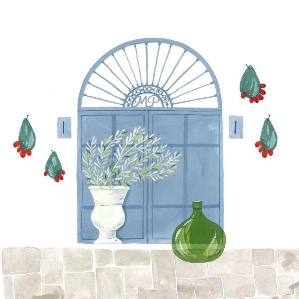 Door to Paradise / #extraordinarylifeinpuglia Print