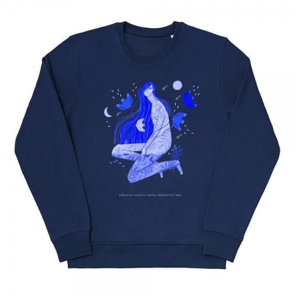 Albastru: Marea / Sweatshirt