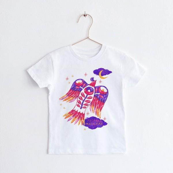 "KIDS T-shirt TSHIRT ""PASAREA MAIASTRA"" / ROUND NECK"