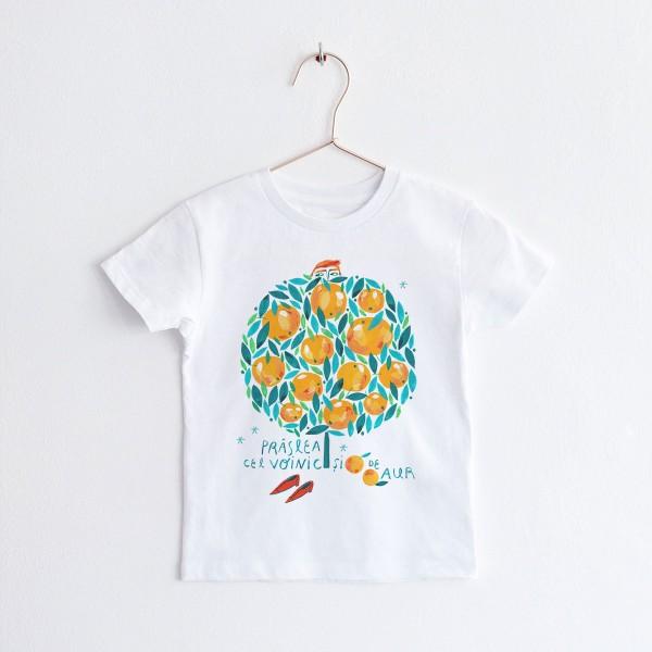 """KIDS T-shirt TSHIRT """"PRASLEA CEL VOINIC"""" / ROUND NECK"""