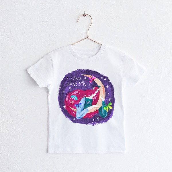 "KIDS T-shirt TSHIRT ""ZANA ZANELOR"" / ROUND NECK"