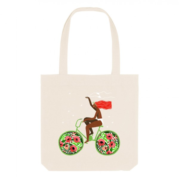 MADEMOISELLE CHOCOLAT/ medium tote bag