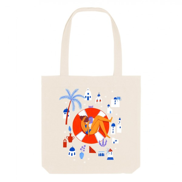 KALIMERA / medium tote bag