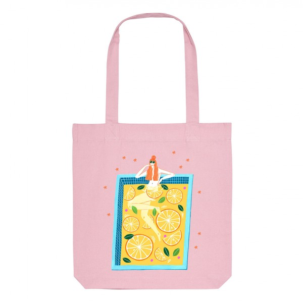 LEMONADE / medium tote bag