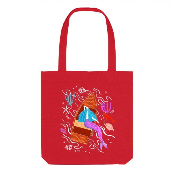 MERMAID/ medium tote bag