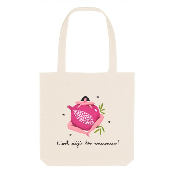 POMEGRANATE / medium tote bag
