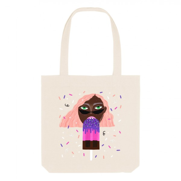 POPSICLE / medium tote bag