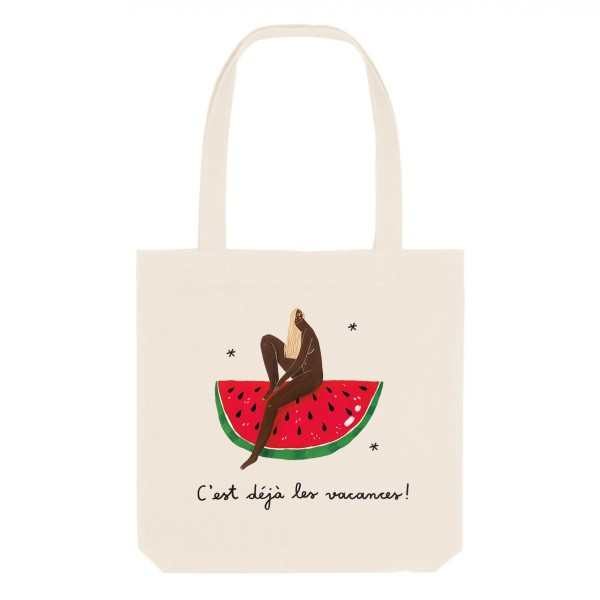 WATERMELON / medium tote bag