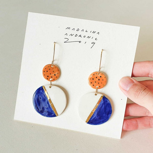 CHLOE / PORCELAIN EARRINGS 9
