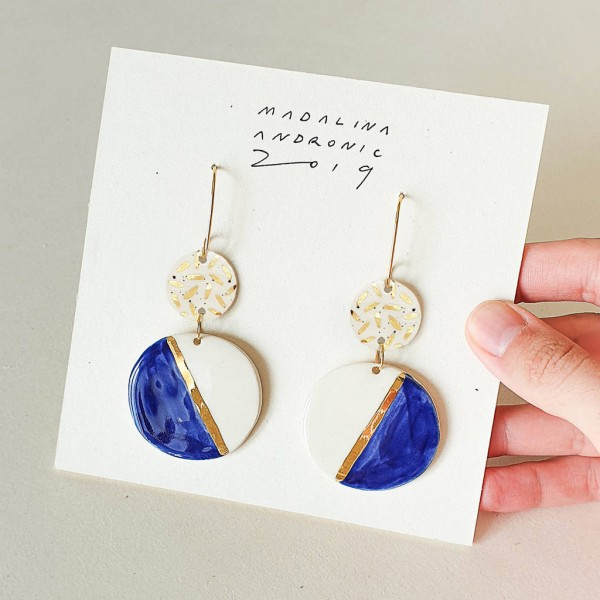 CHLOE / PORCELAIN EARRINGS 9A
