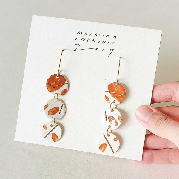 LULA / PORCELAIN EARRINGS 3
