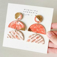FREYA / PORCELAIN EARRINGS 3