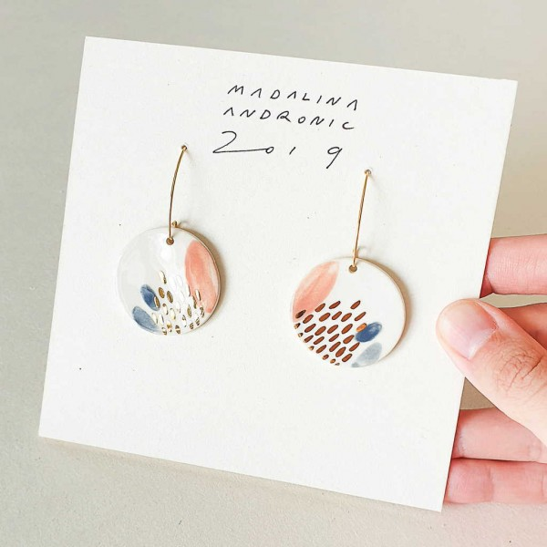 ZOLA / PORCELAIN EARRINGS 6