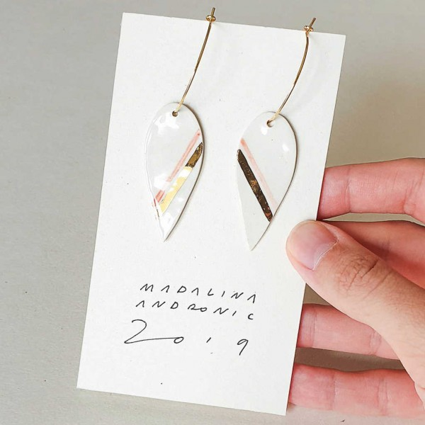 NINA / PORCELAIN EARRINGS 3