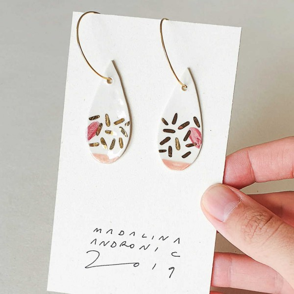 ORIA / PORCELAIN EARRINGS 9