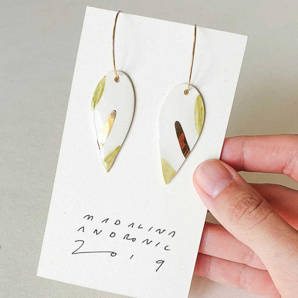 NINA / PORCELAIN EARRINGS 8
