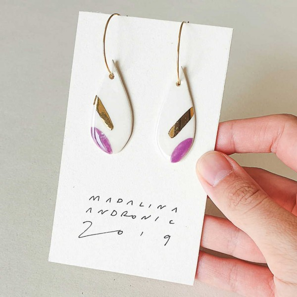 ORIA / PORCELAIN EARRINGS 18