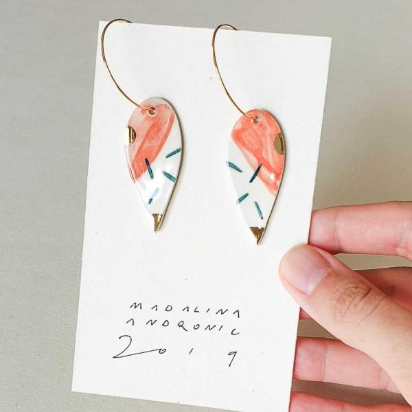 NINA / PORCELAIN EARRINGS 11