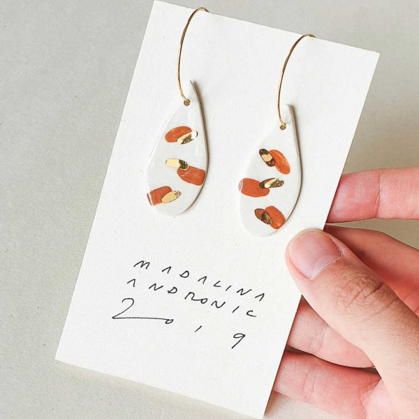 ORIA / PORCELAIN EARRINGS 21