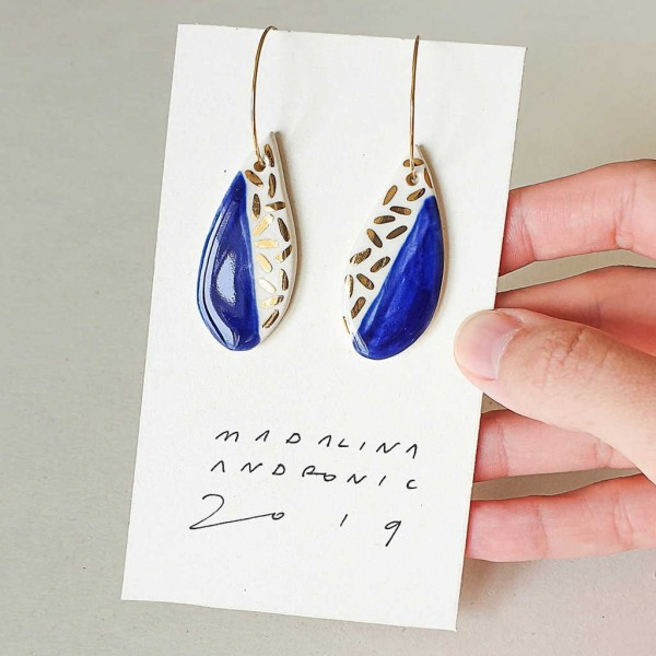 ORIA / PORCELAIN EARRINGS 25