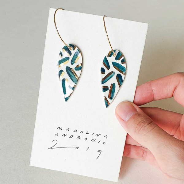 NINA / PORCELAIN EARRINGS 20
