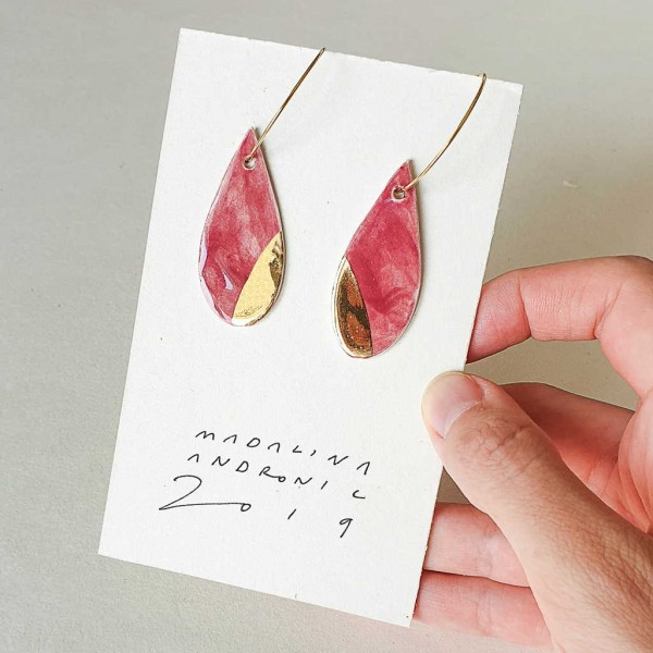 ORIA / PORCELAIN EARRINGS 27