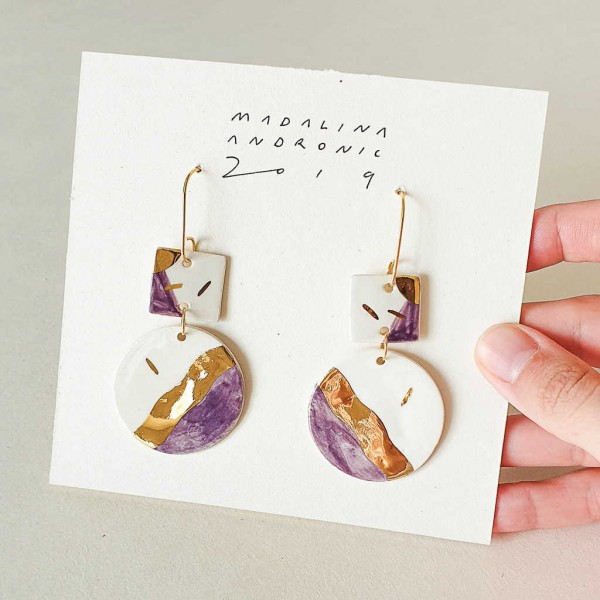 PALOMA / PORCELAIN EARRINGS 1