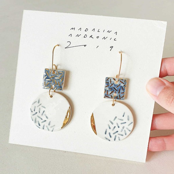 PALOMA / PORCELAIN EARRINGS 2