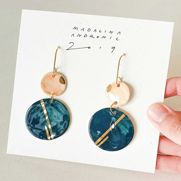 CHLOE / PORCELAIN EARRINGS 2