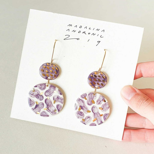 CHLOE / PORCELAIN EARRINGS 3
